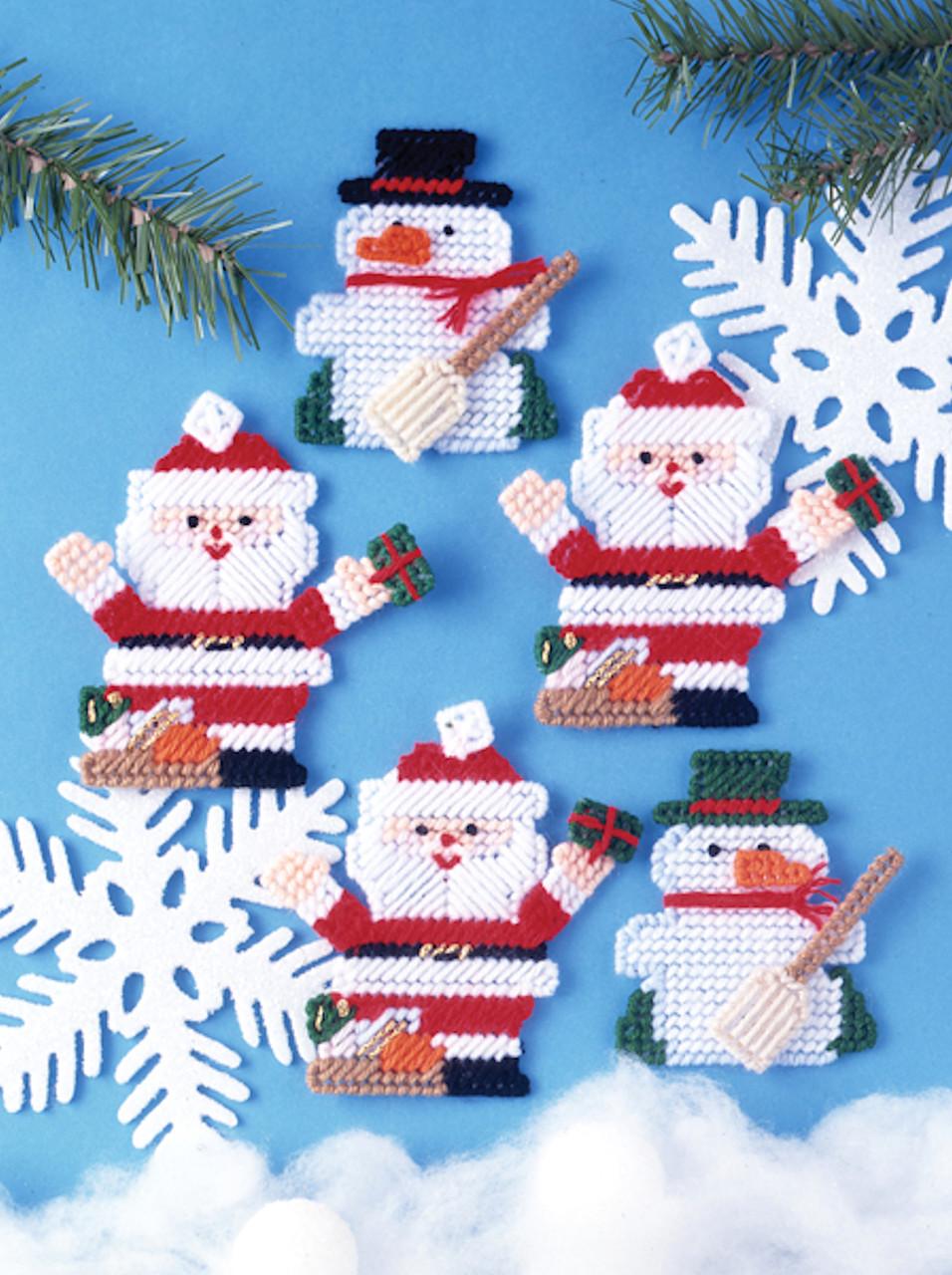 Design Works - Santa & Snowman Ornaments (5)
