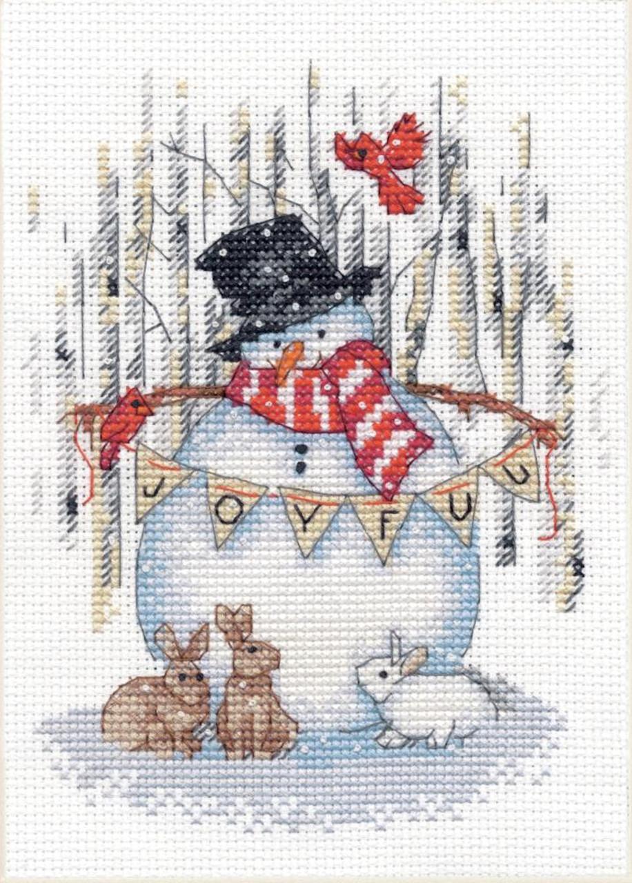 Dimensions - Joyful Snowman