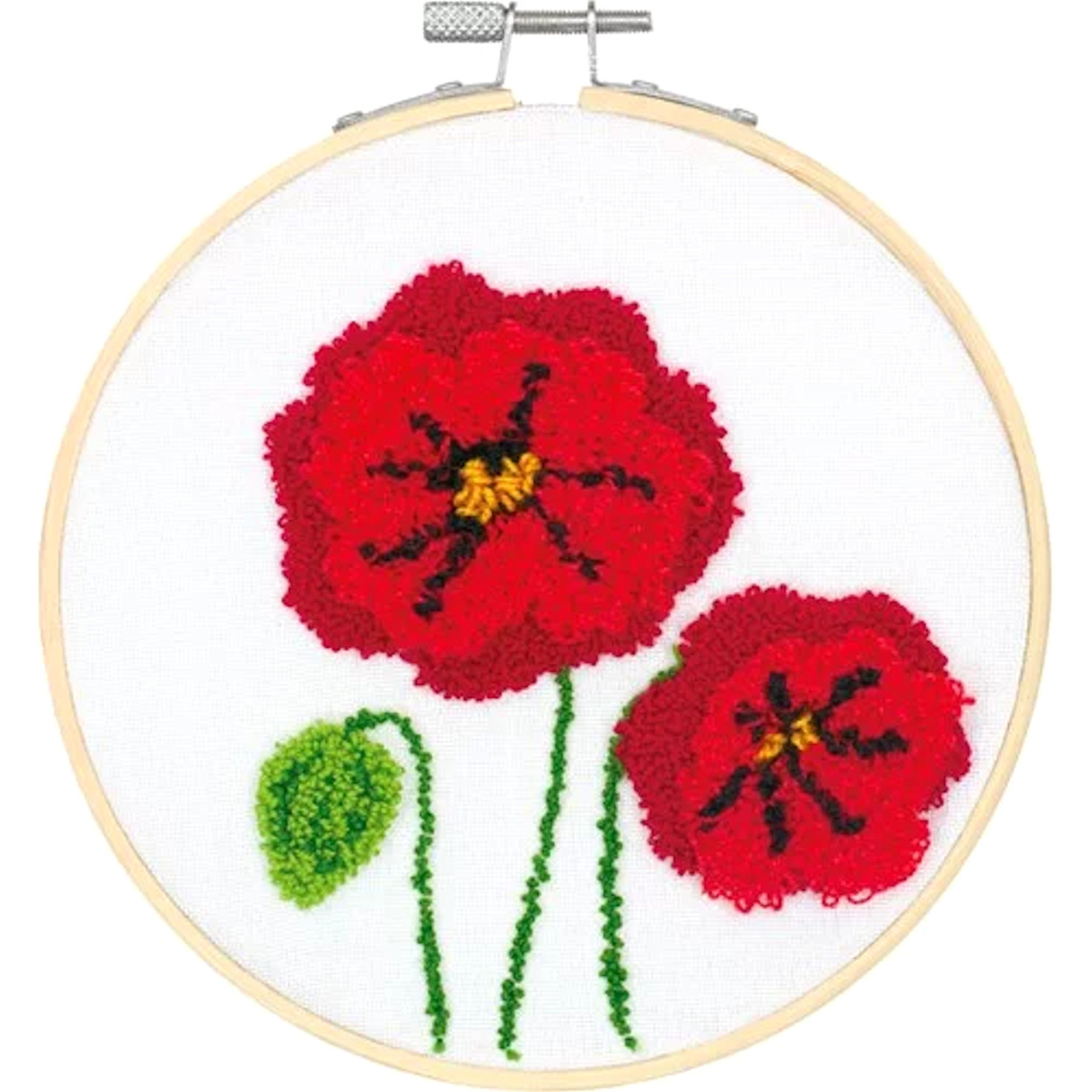 Dimensions Punch Needle - Poppies