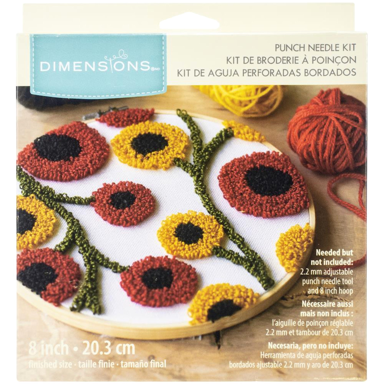 Dimensions Punch Needle - Floral Pattern