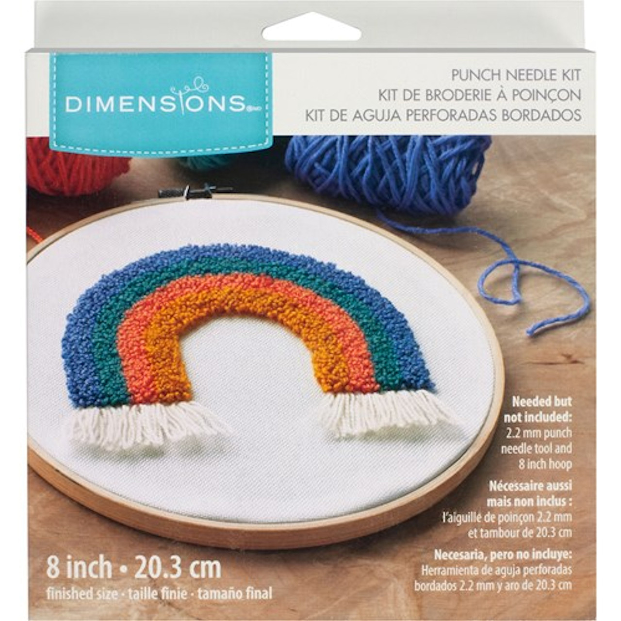 Dimensions Punch Needle - Rainbow