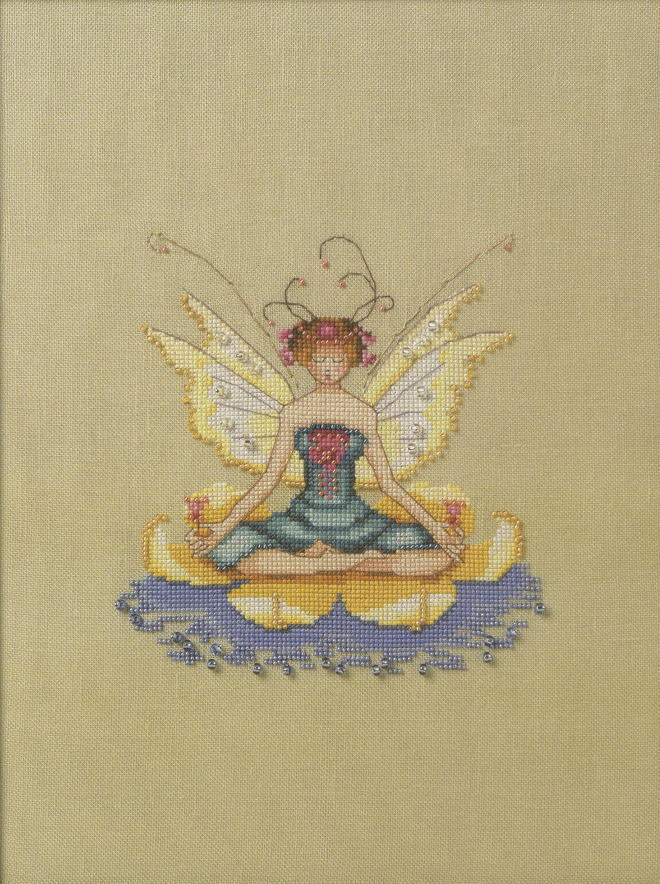 Nora Corbett Embellishment Pack - Lotus