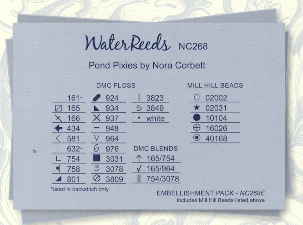 Nora Corbett - Pond Pixies - Water Reeds