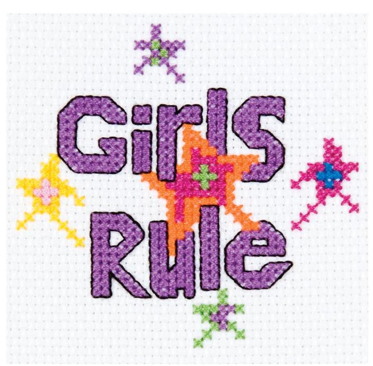 My 1st Stitch - Girls Rule