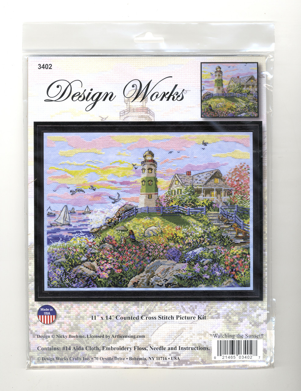 Design Works - Watching the Sunset
