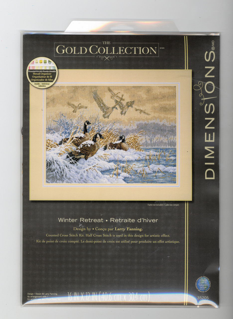 Dimensions Gold Collection - Winter Retreat