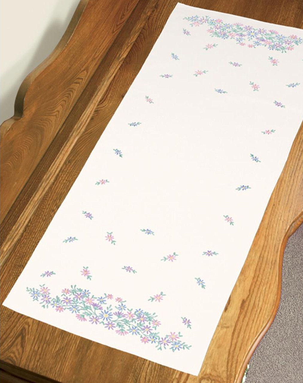 Dimensions - Wildflowers Dresser Scarf