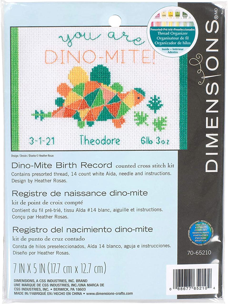 Dimensions Minis - Dino-Mite Birth Record