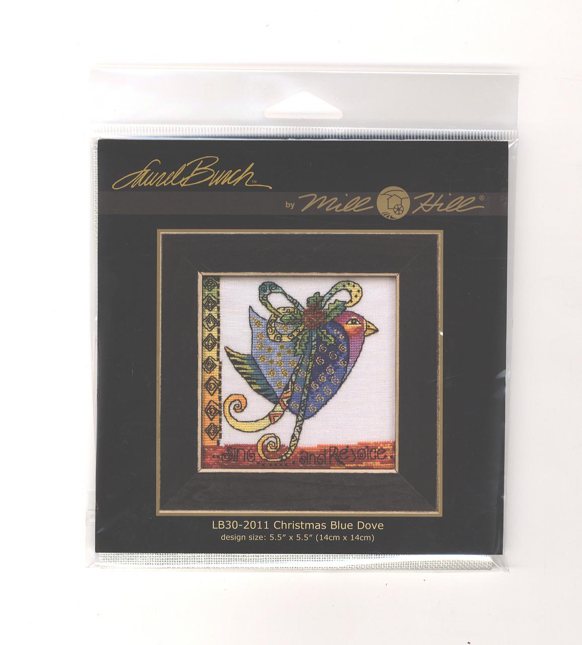 Mill Hill / Laurel Burch - Christmas Blue Dove