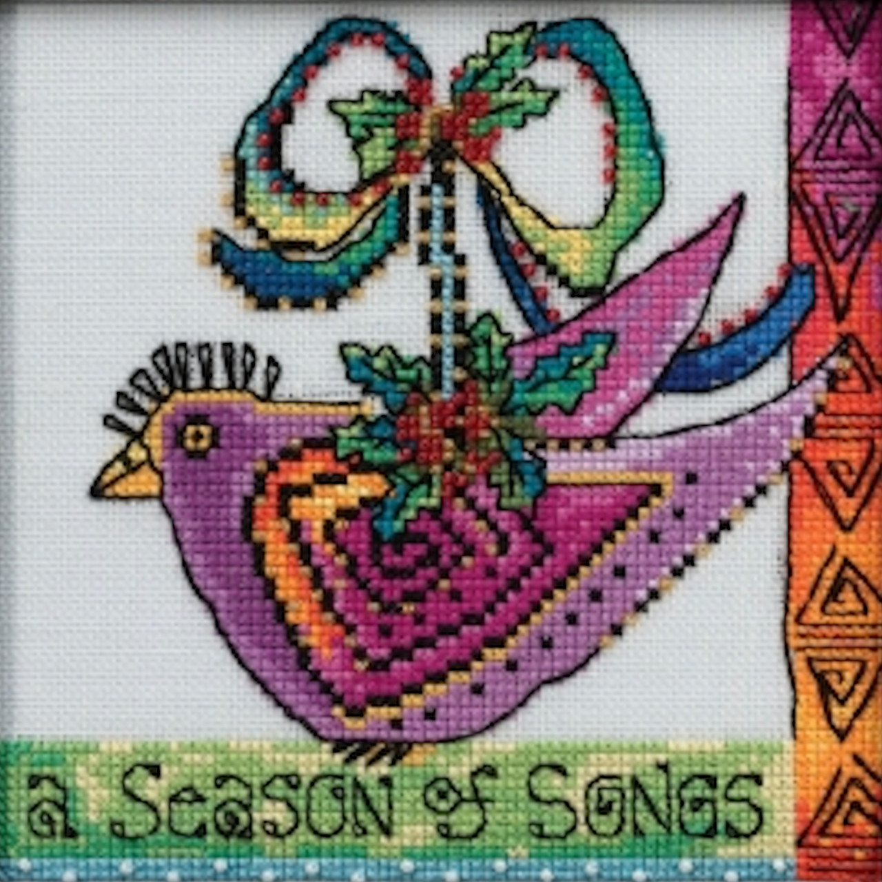 Mill Hill / Laurel Burch - Christmas Purple Dove