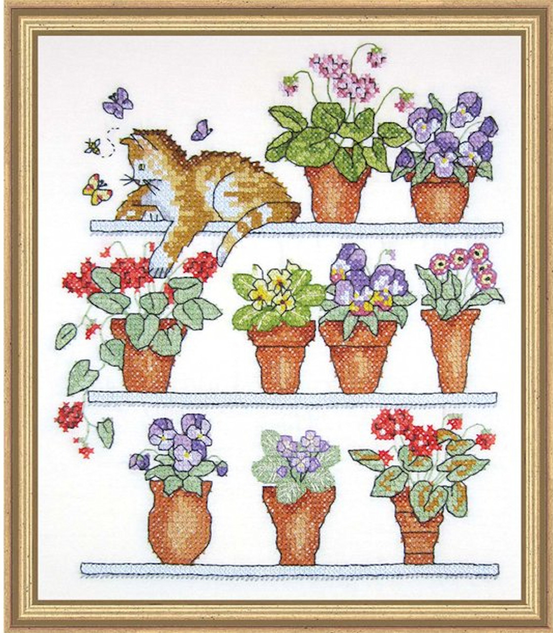 Janlynn - Cat On Shelf