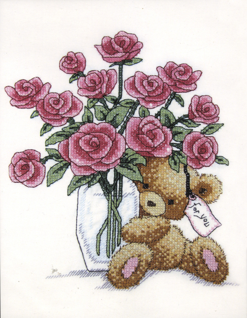 Design Works -  Bear with Roses