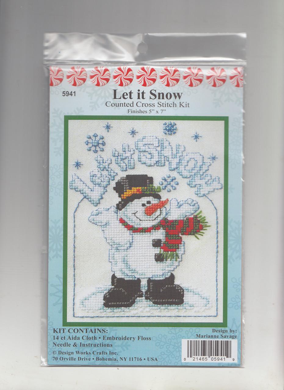 Design Works -  Let it Snow