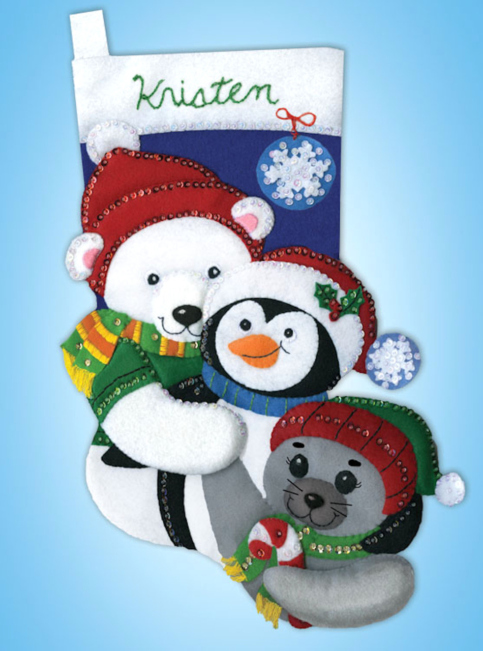 Design Works -  Winter Buddies Stocking