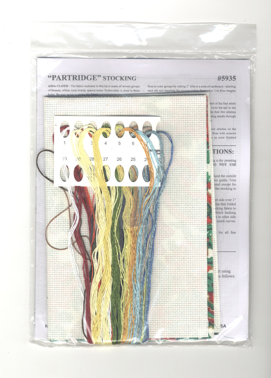 Design Works -  Partridge Stocking