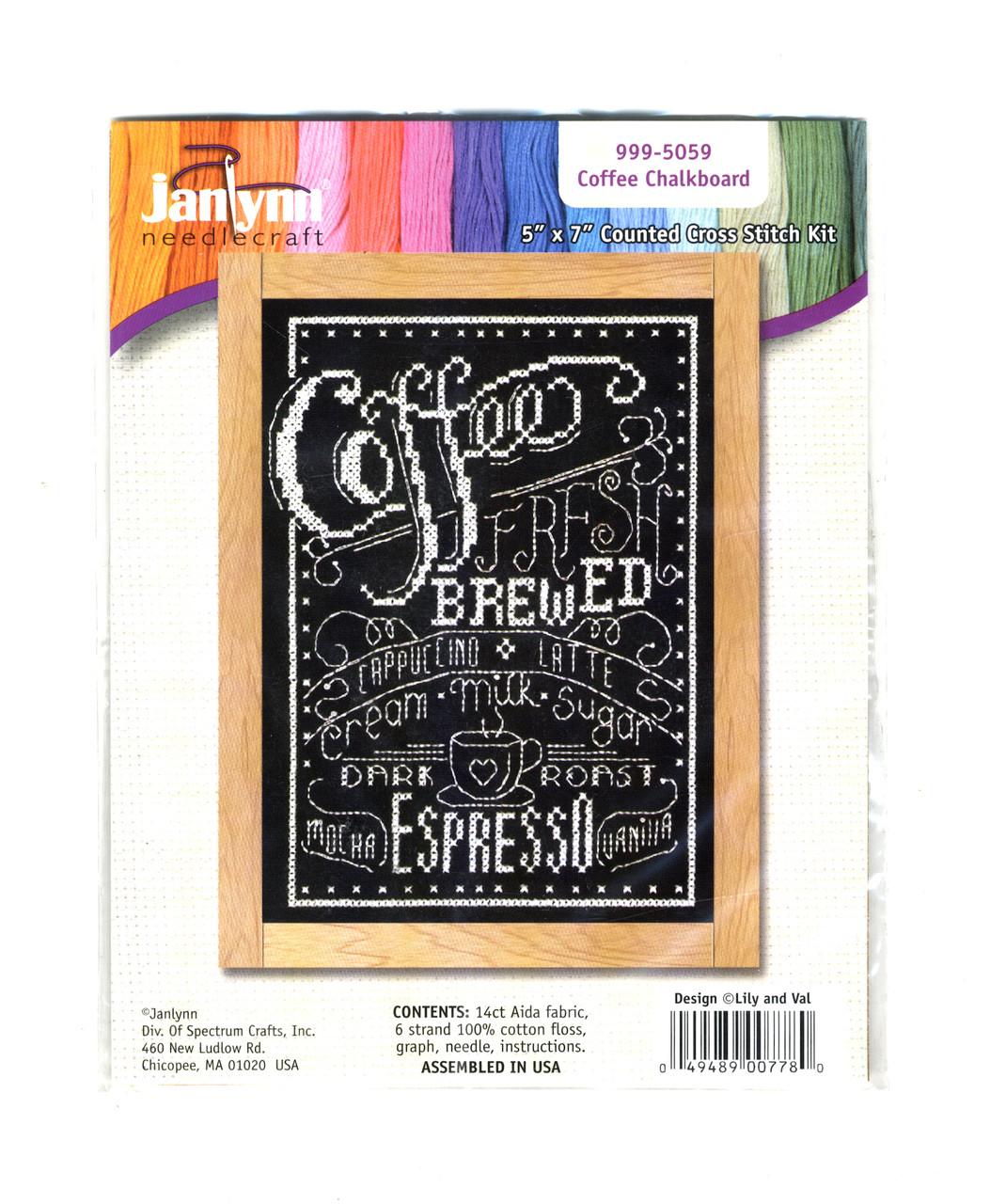 Janlynn - Coffee Chalkboard