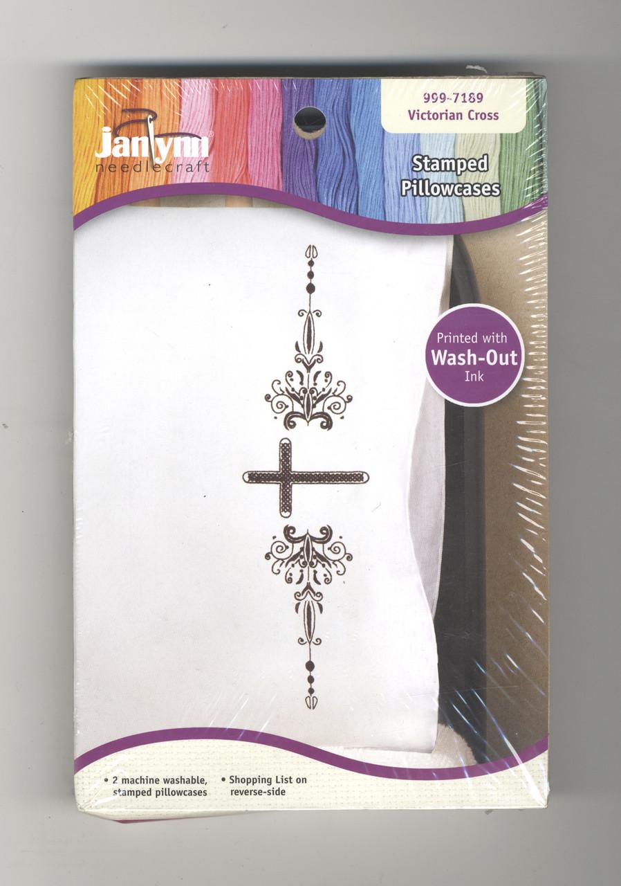 Janlynn - Victorian Cross Pillowcases