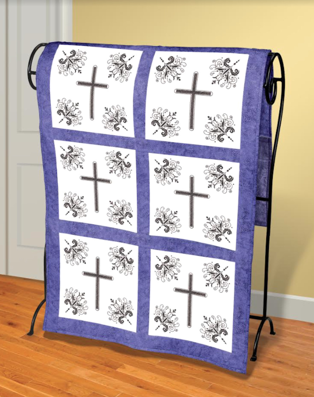 Janlynn - Victorian Cross Quilt Blocks (6)