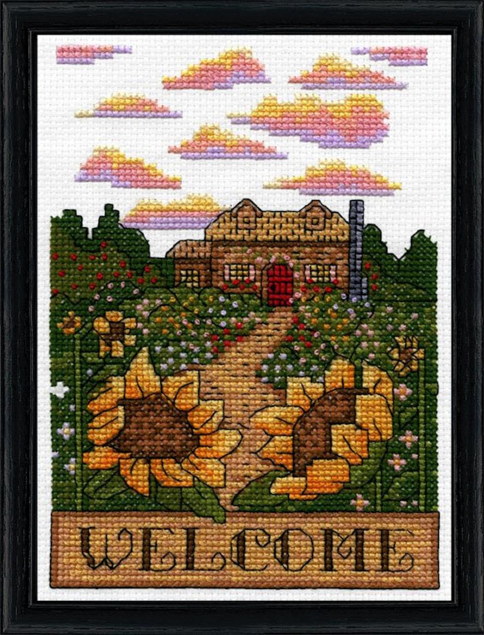 Design Works -  Sunflower Welcome