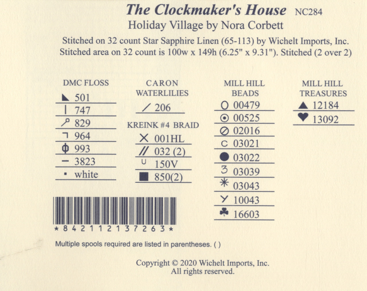 Nora Corbett - The Clockmaker's House