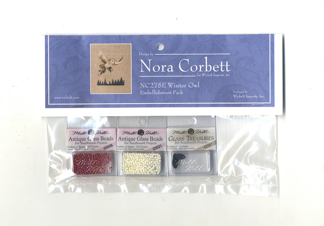 Nora Corbett Embellishment Pack  - Winter Owl