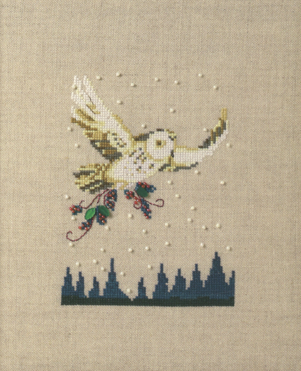 Nora Corbett Embellishment Pack  - Winter Owl