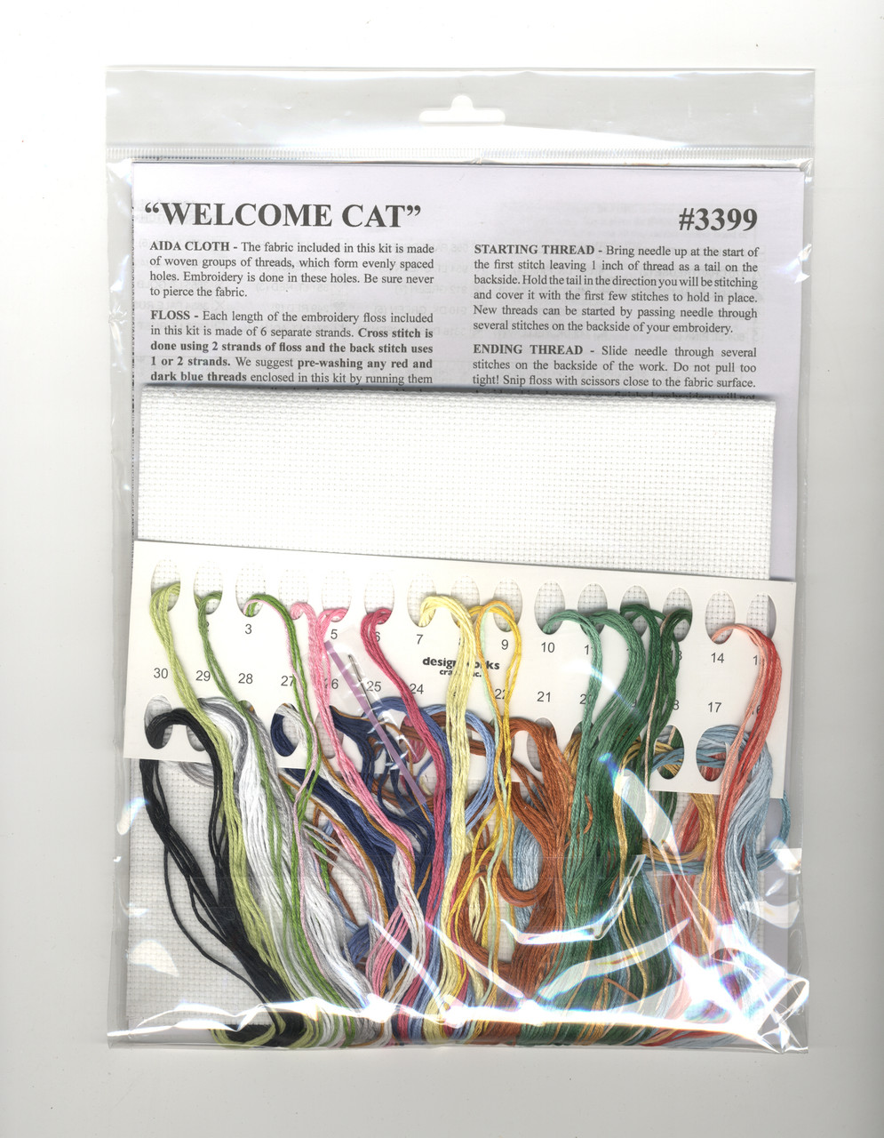 Design Works -  Welcome Cat