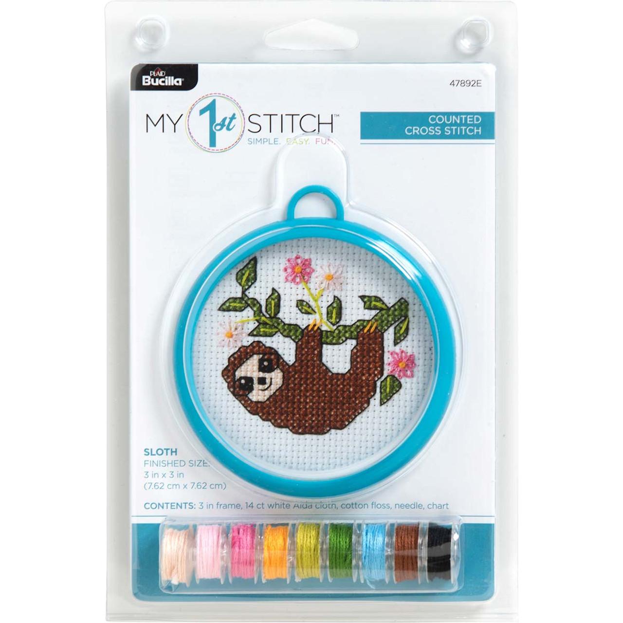 My 1st Stitch - Sloth