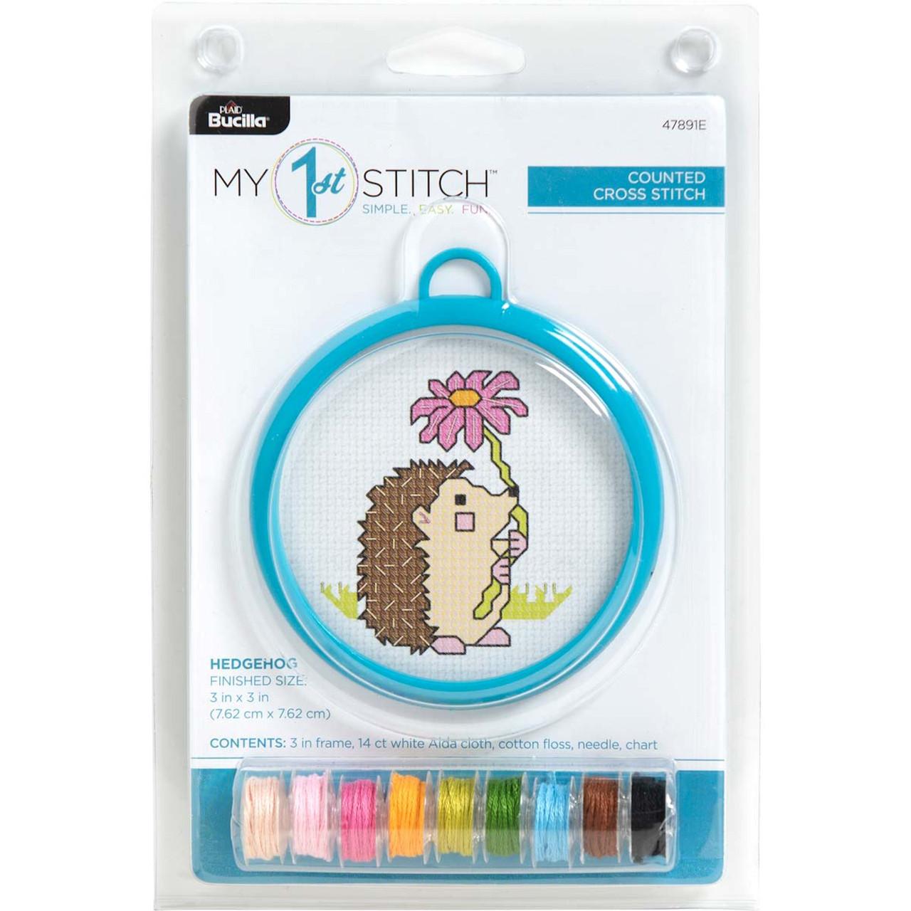 My 1st Stitch - Hedgehog