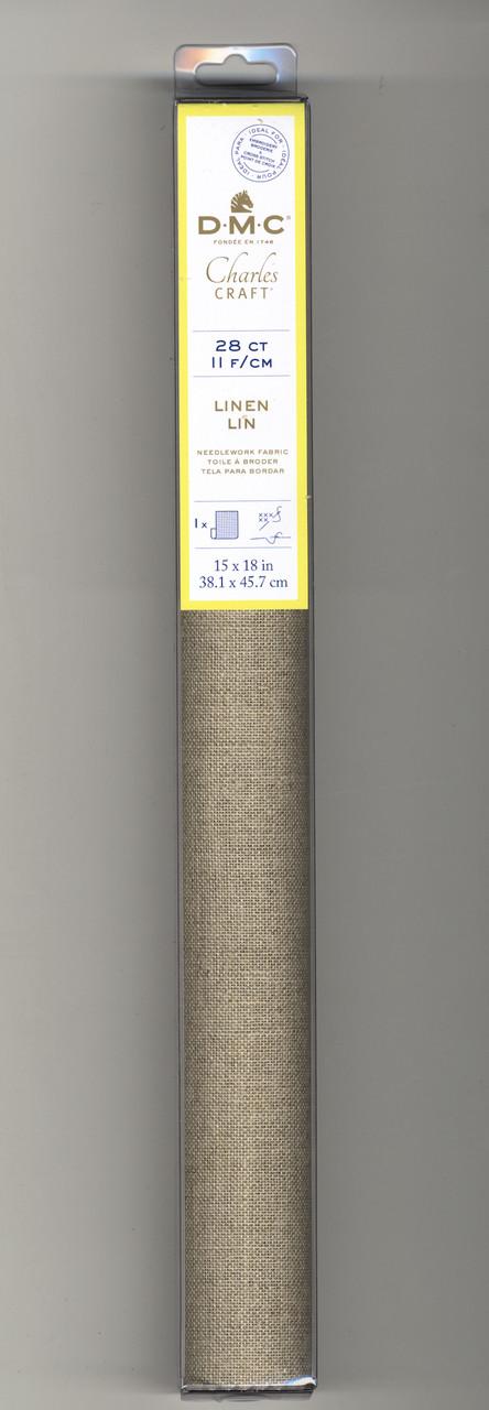 "Charles Craft  - 28 Count Beige Linen 15"" x 18"""