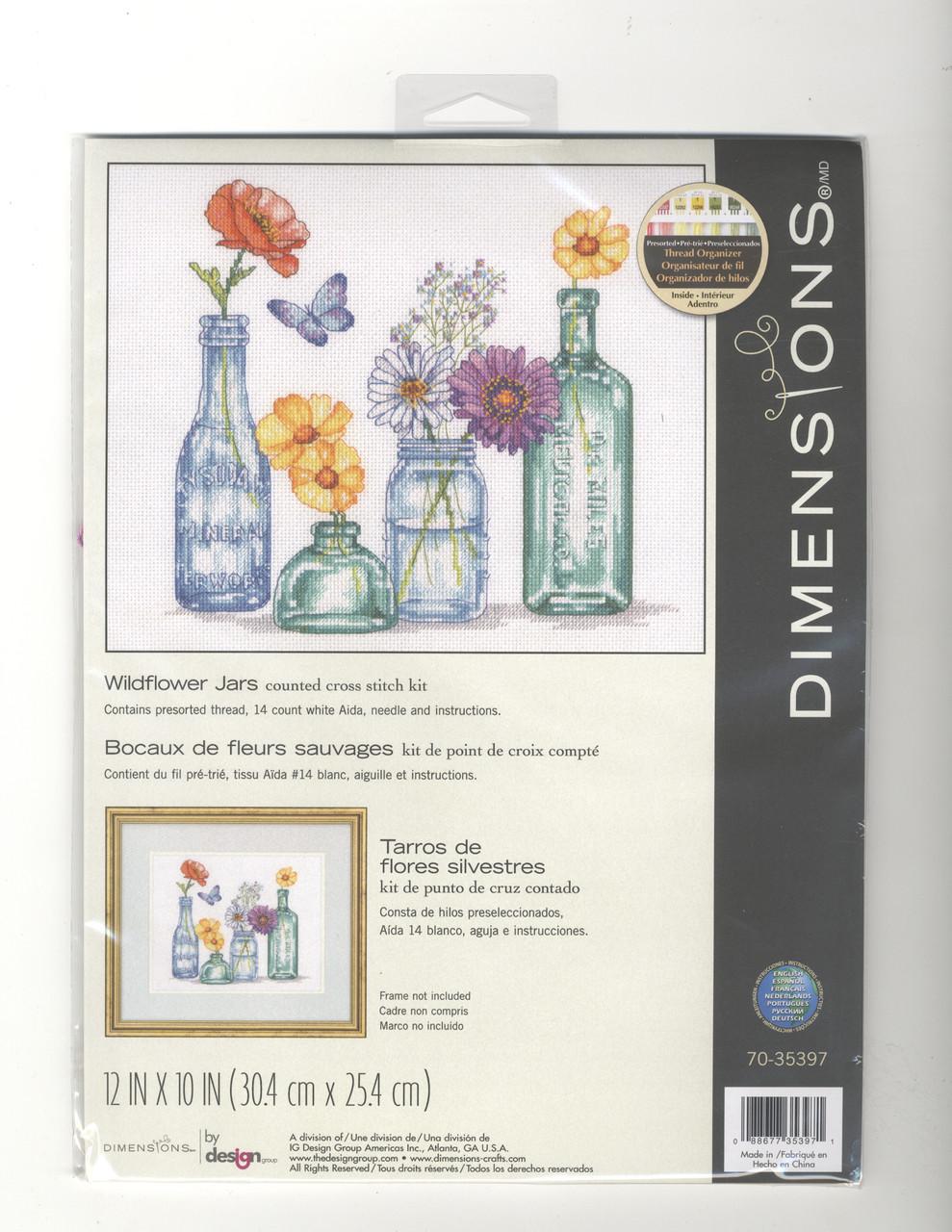 Dimensions - Wildflower Jars