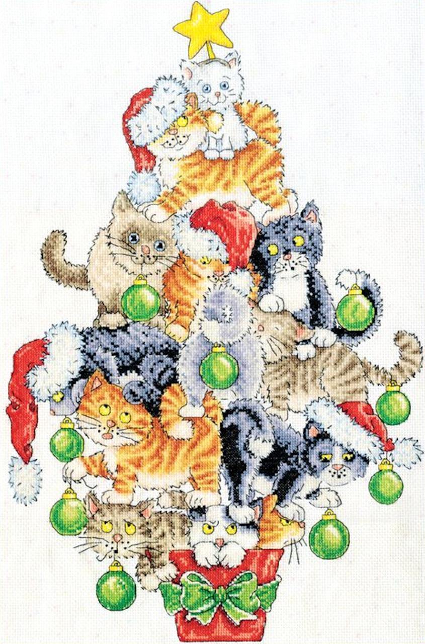 Design Works -  Christmas Cat Tree