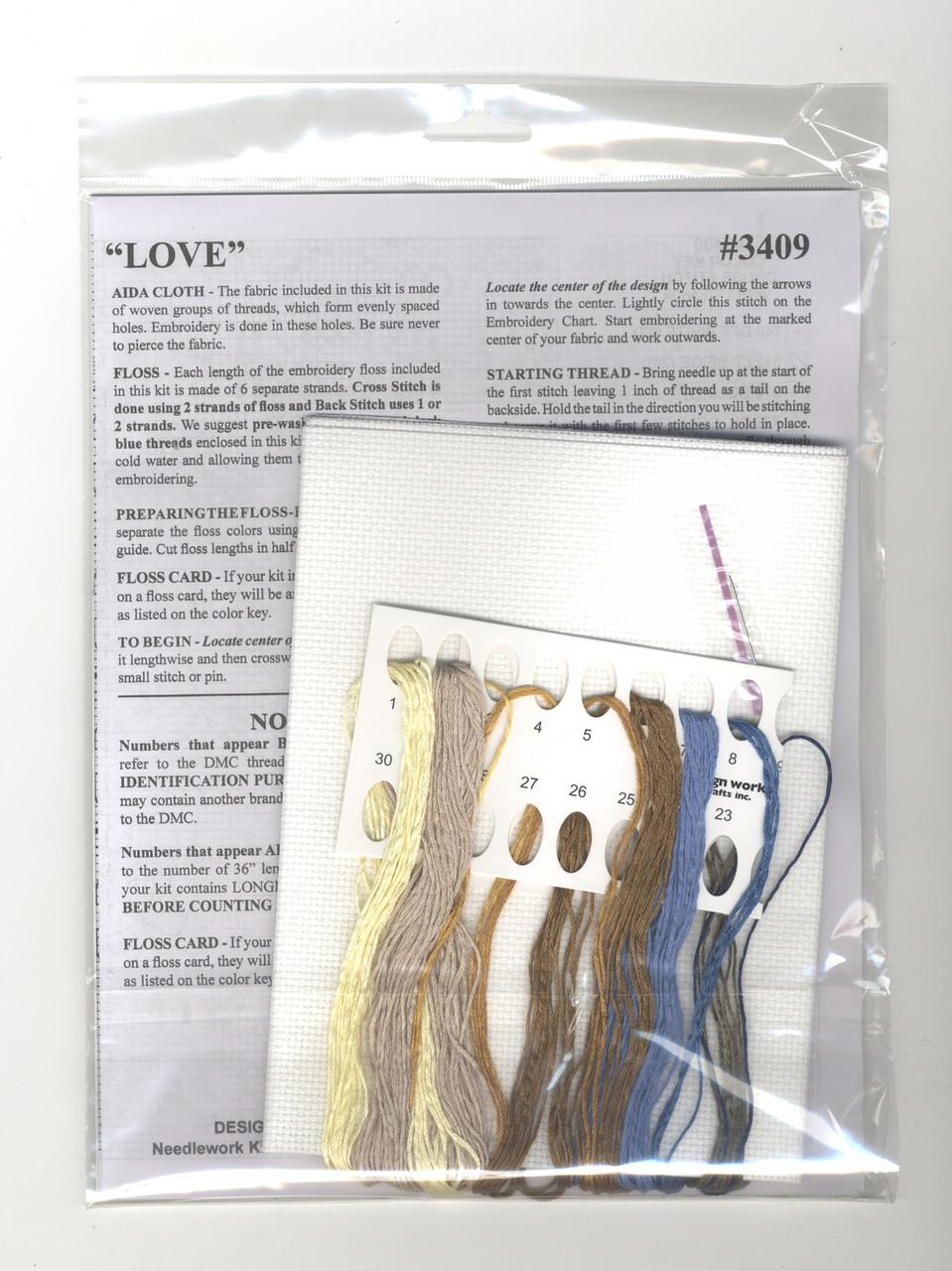 Design Works -  Love with Bluebirds