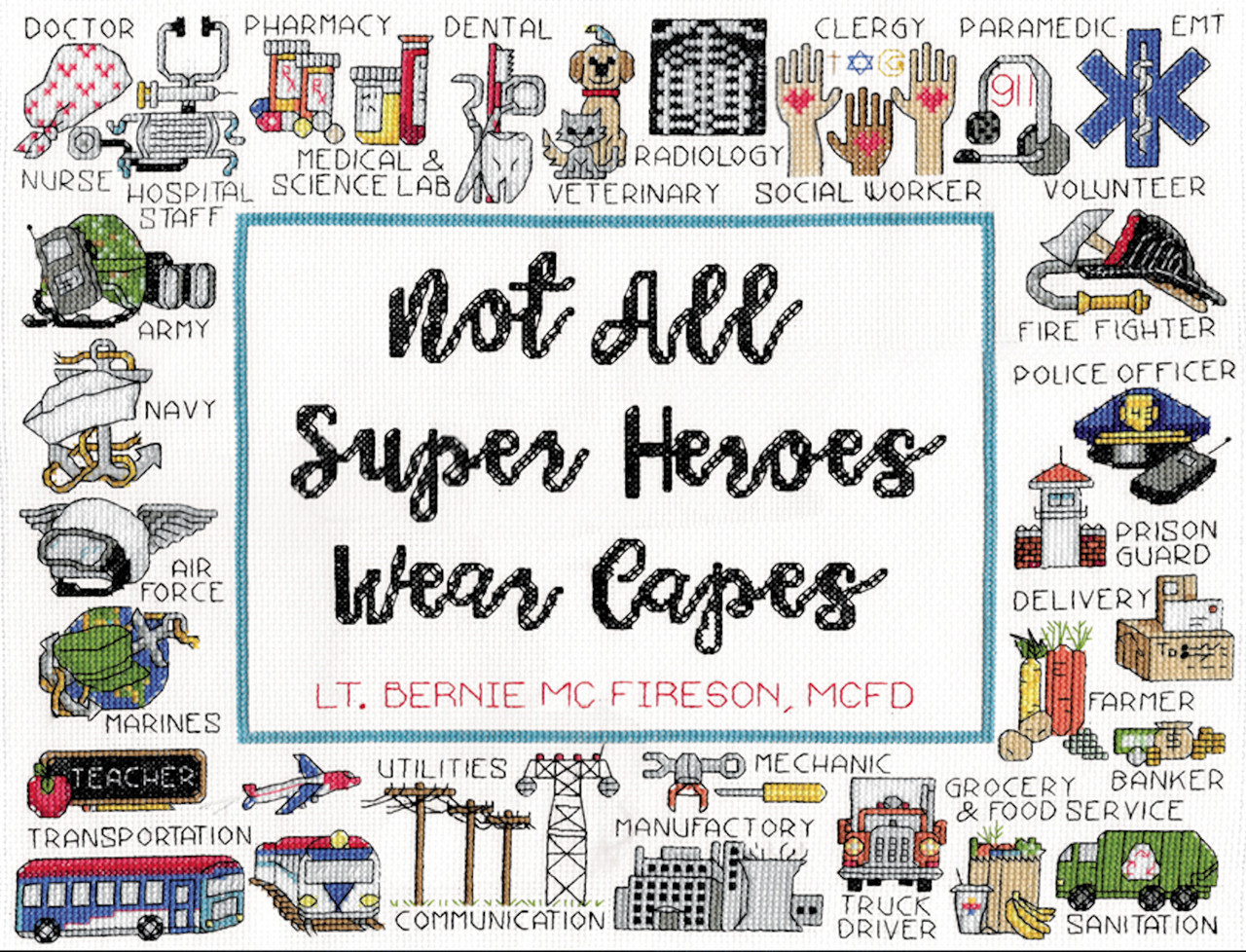 Design Works -  Super Heroes