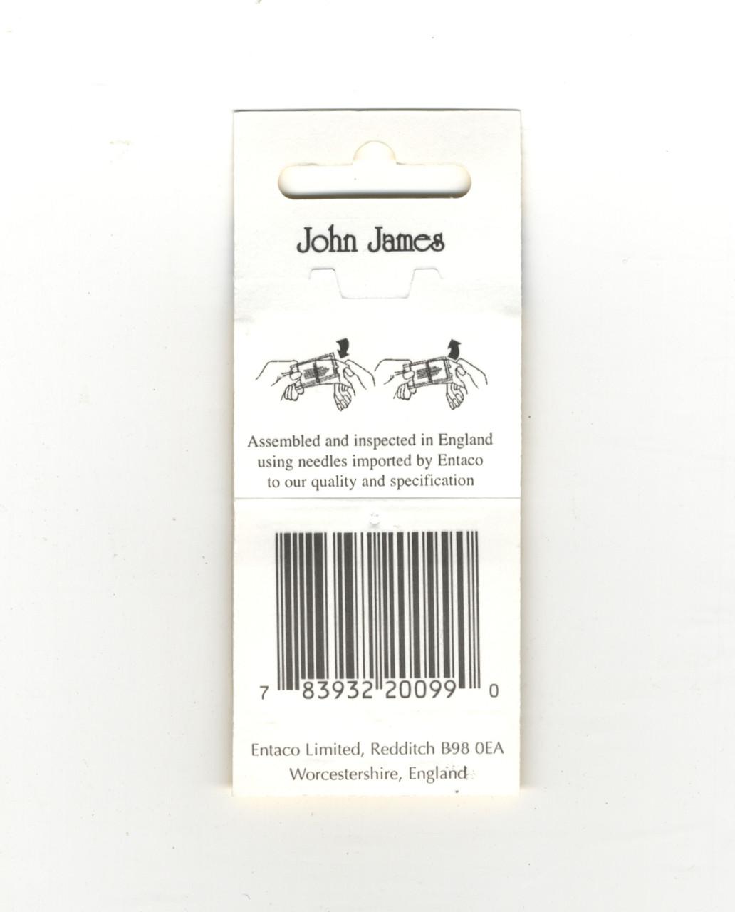 John James -  Size 28 Standard Needles