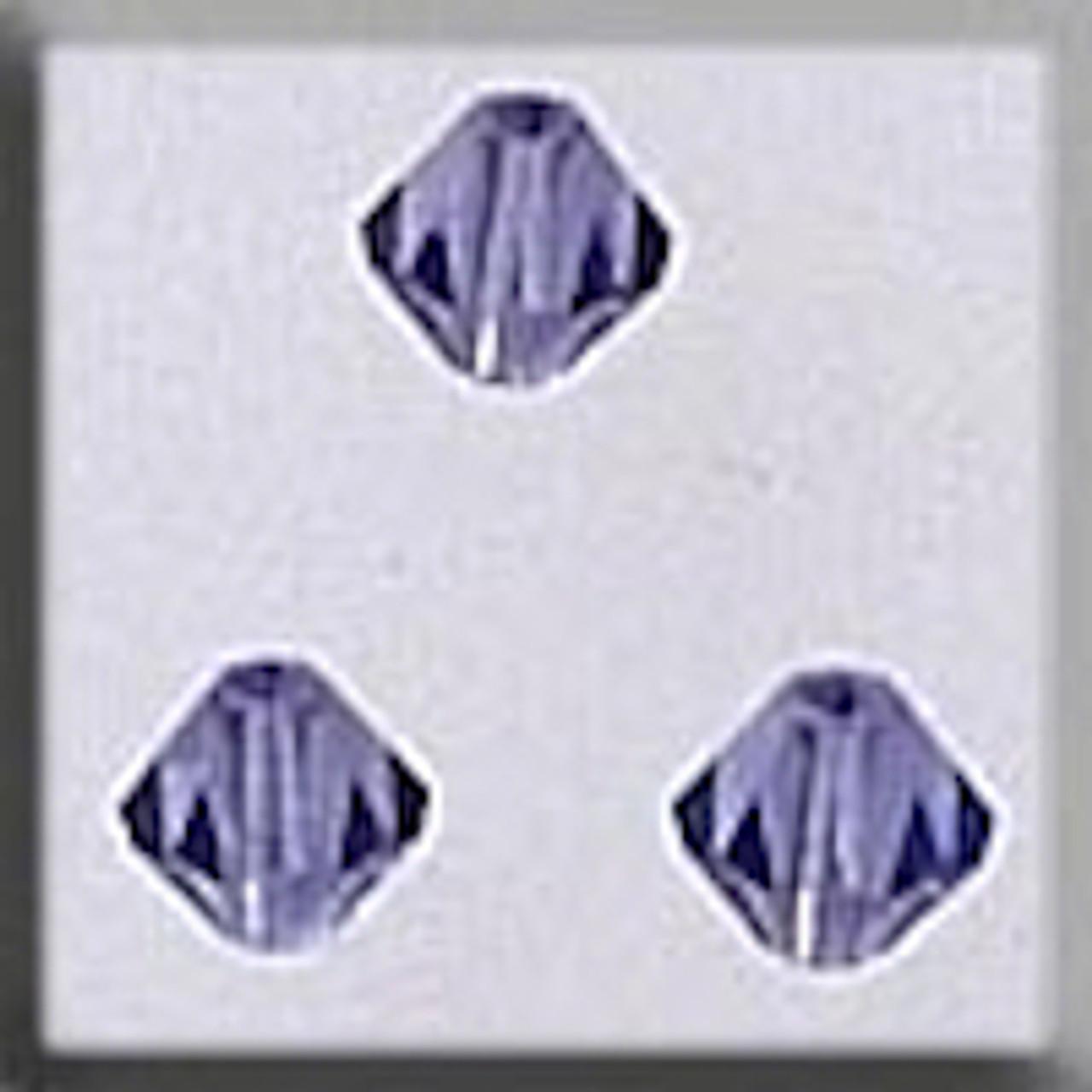 Mill Hill Crystal Treasures - Rondele Tanazanite AB #13080