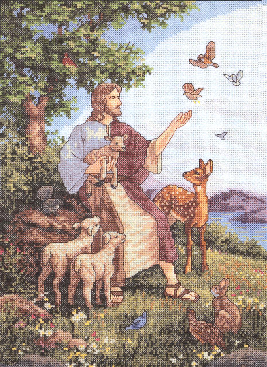 Janlynn - Jesus With Animals