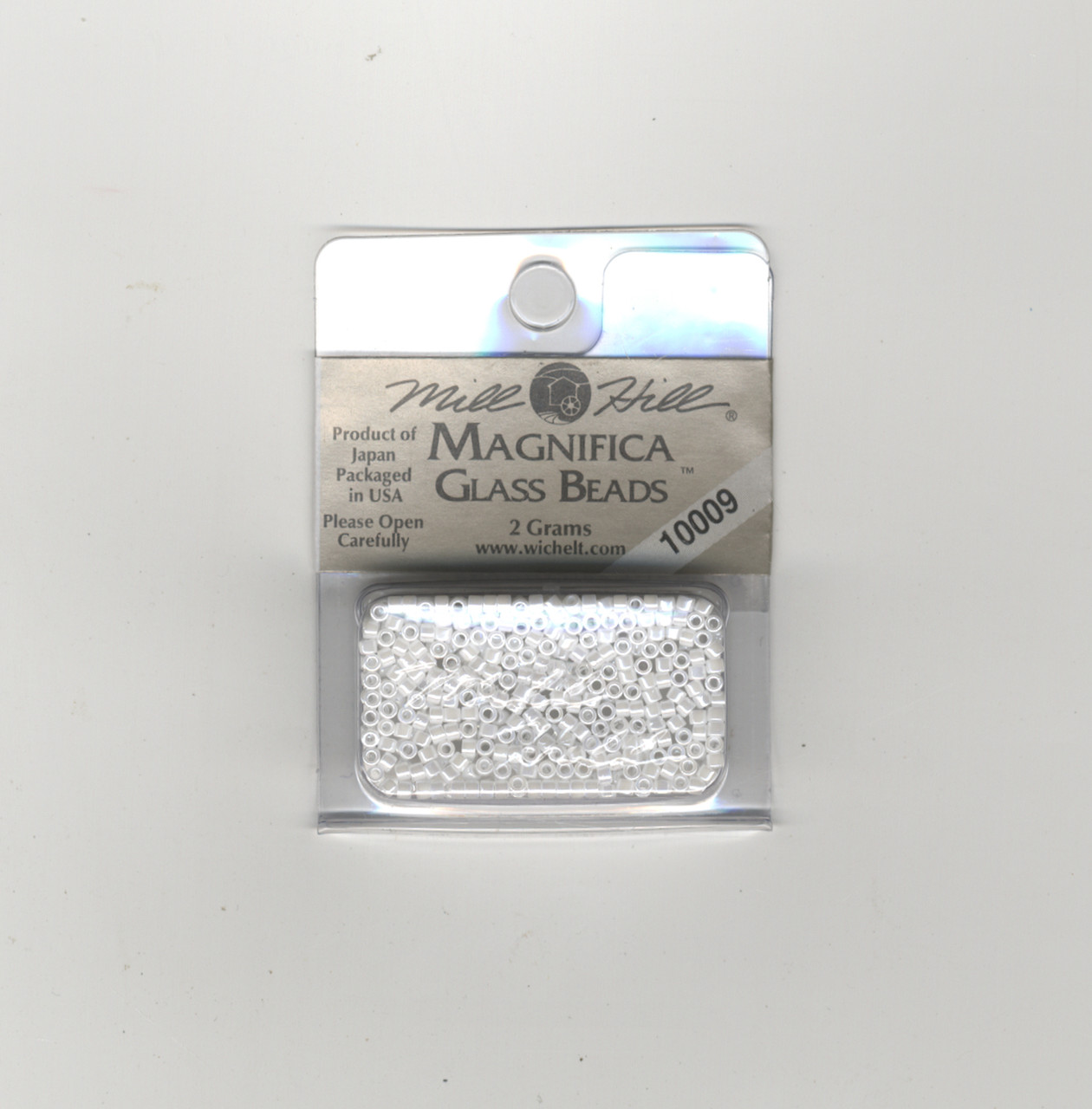 Mill Hill Magnifica Glass Beads 2g - White #10009
