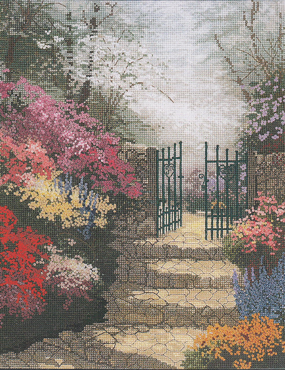 Candamar / Thomas Kinkade - The Garden of Promise