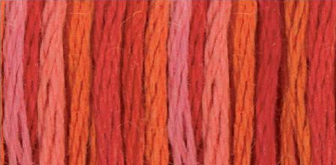 Color Variations Embroidery Floss - Wild Fire #4200