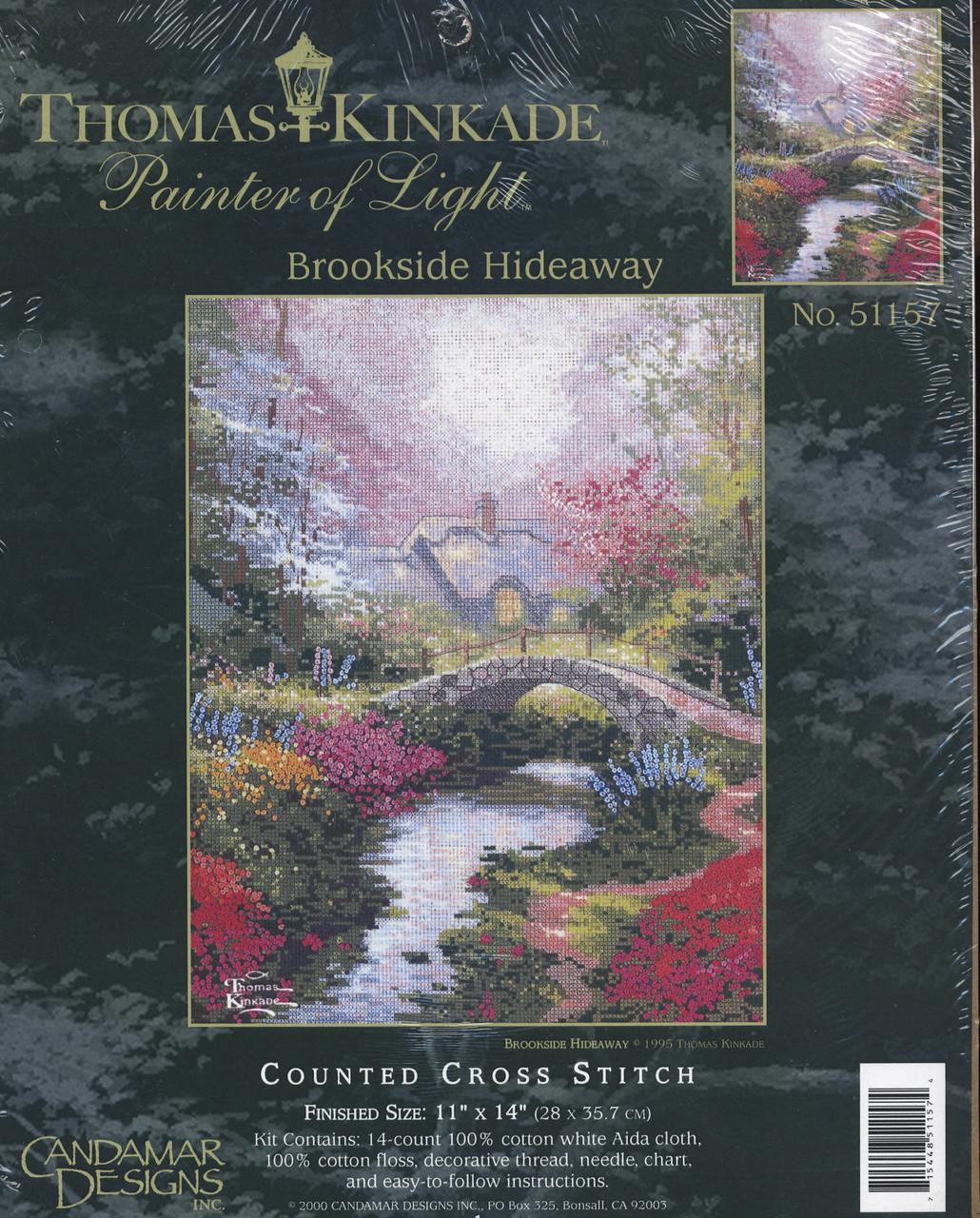 Candamar / Thomas Kinkade - Brookside Hideaway