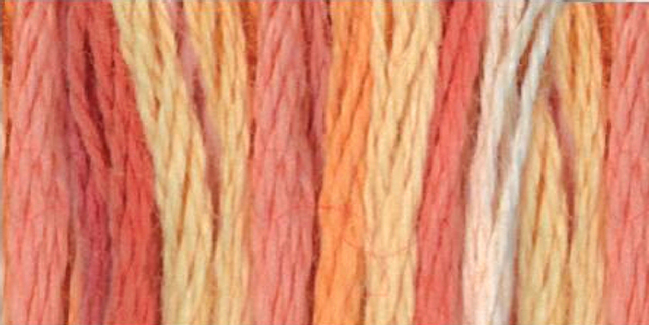 Color Variations Embroidery Floss - Tropical Sunset #4120