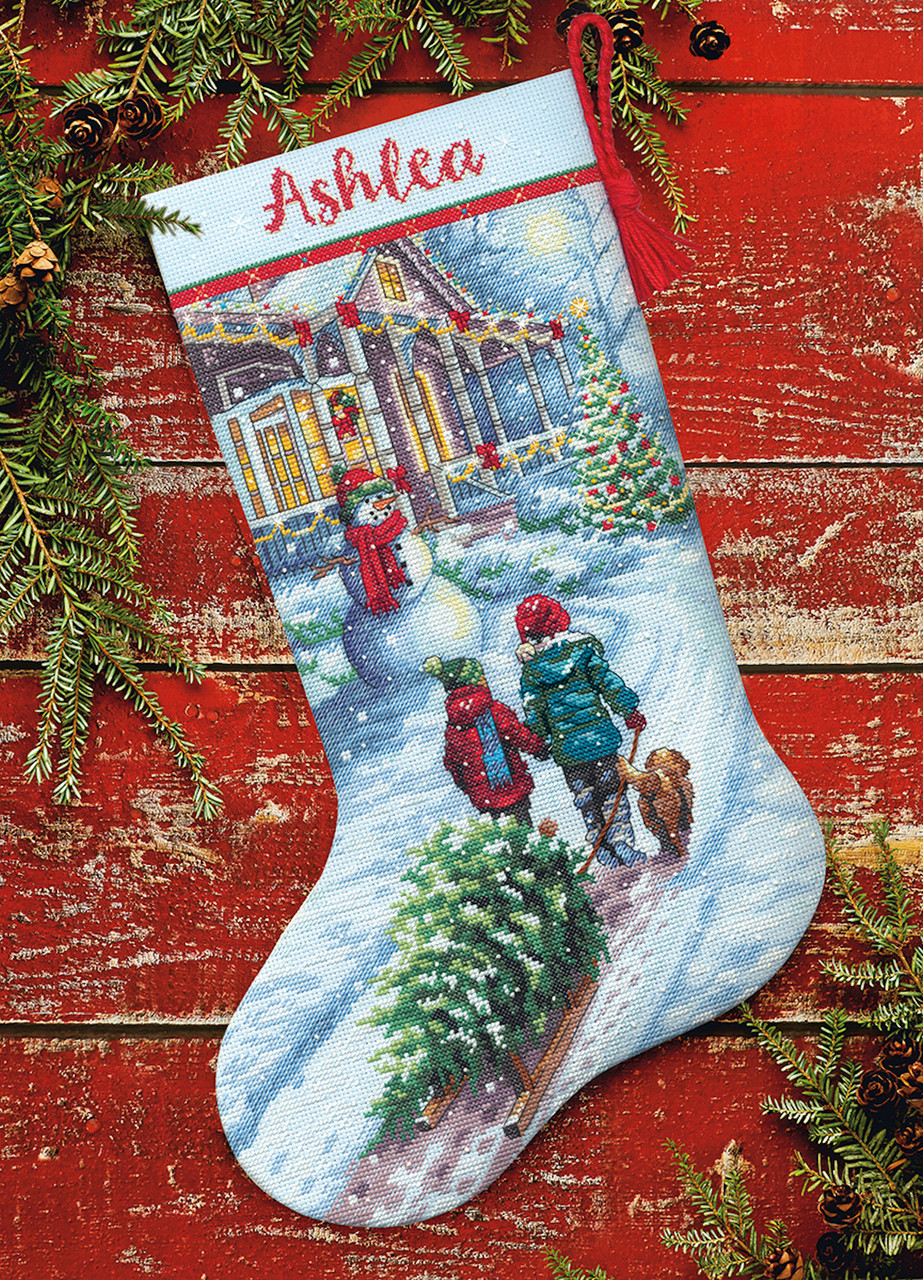 Dimensions - Christmas Tradition Stocking