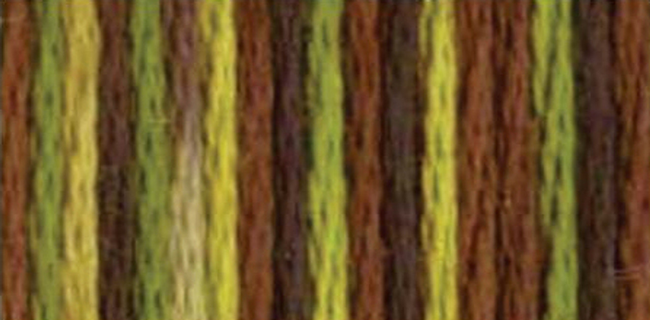 Color Variations Embroidery Floss - Camouflage #4068