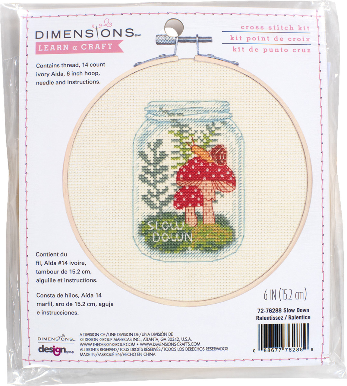 Dimensions Learn a Craft - Slow Down
