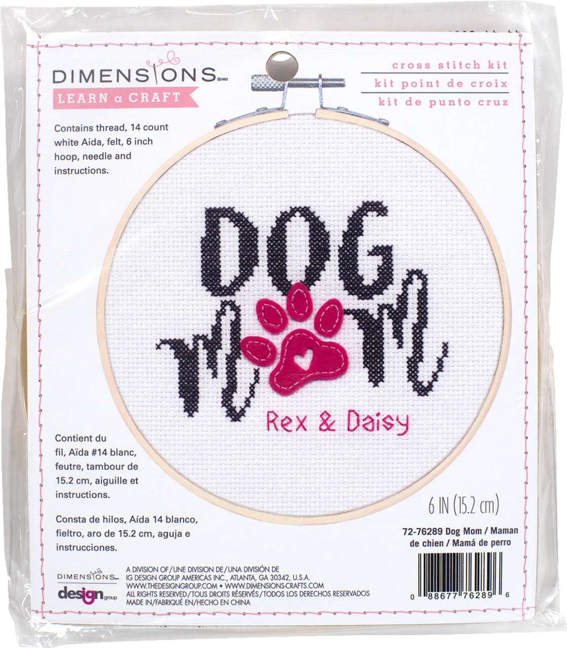 Dimensions Learn a Craft - Dog Mom