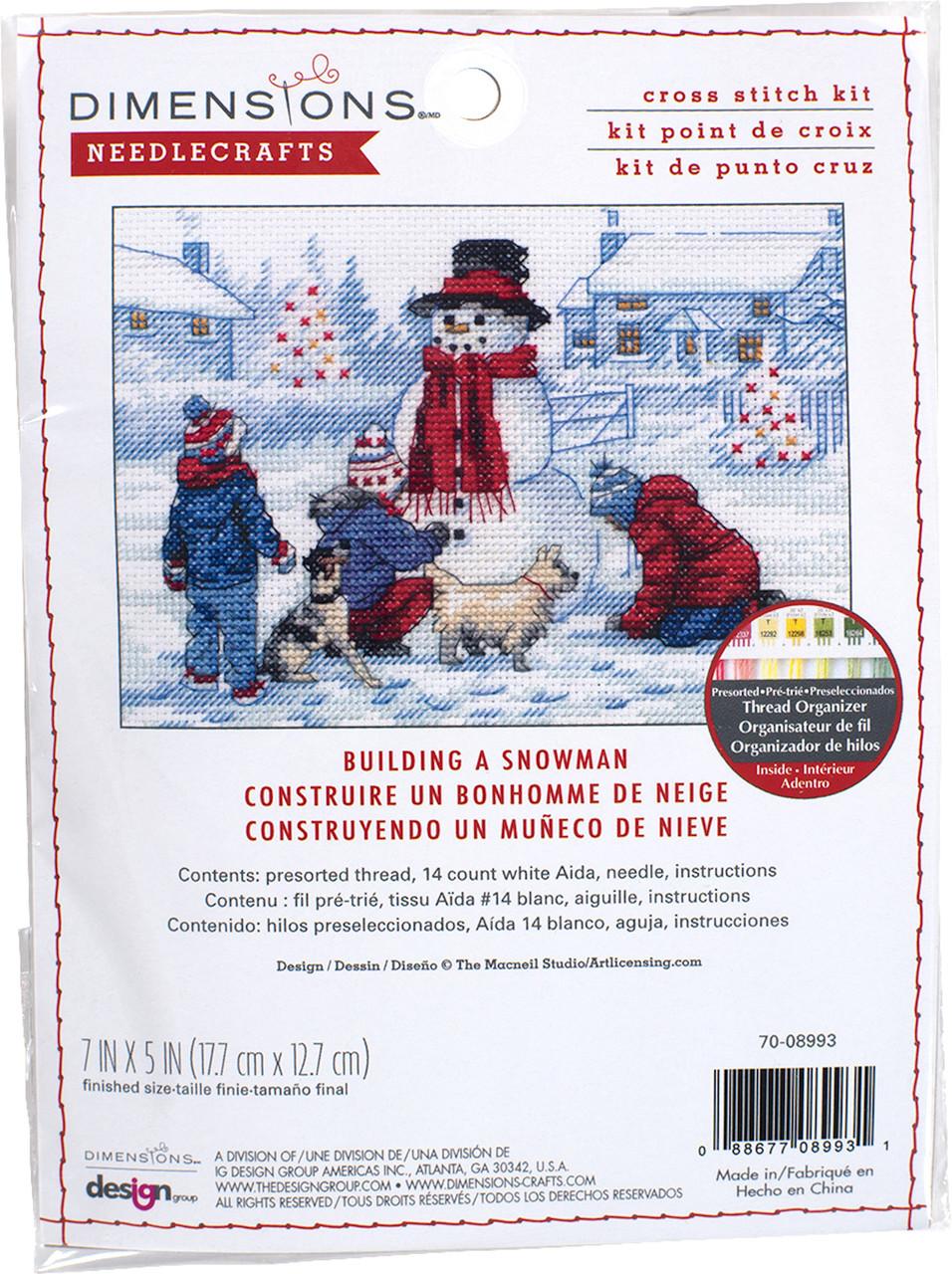 Dimensions Minis - Building A Snowman