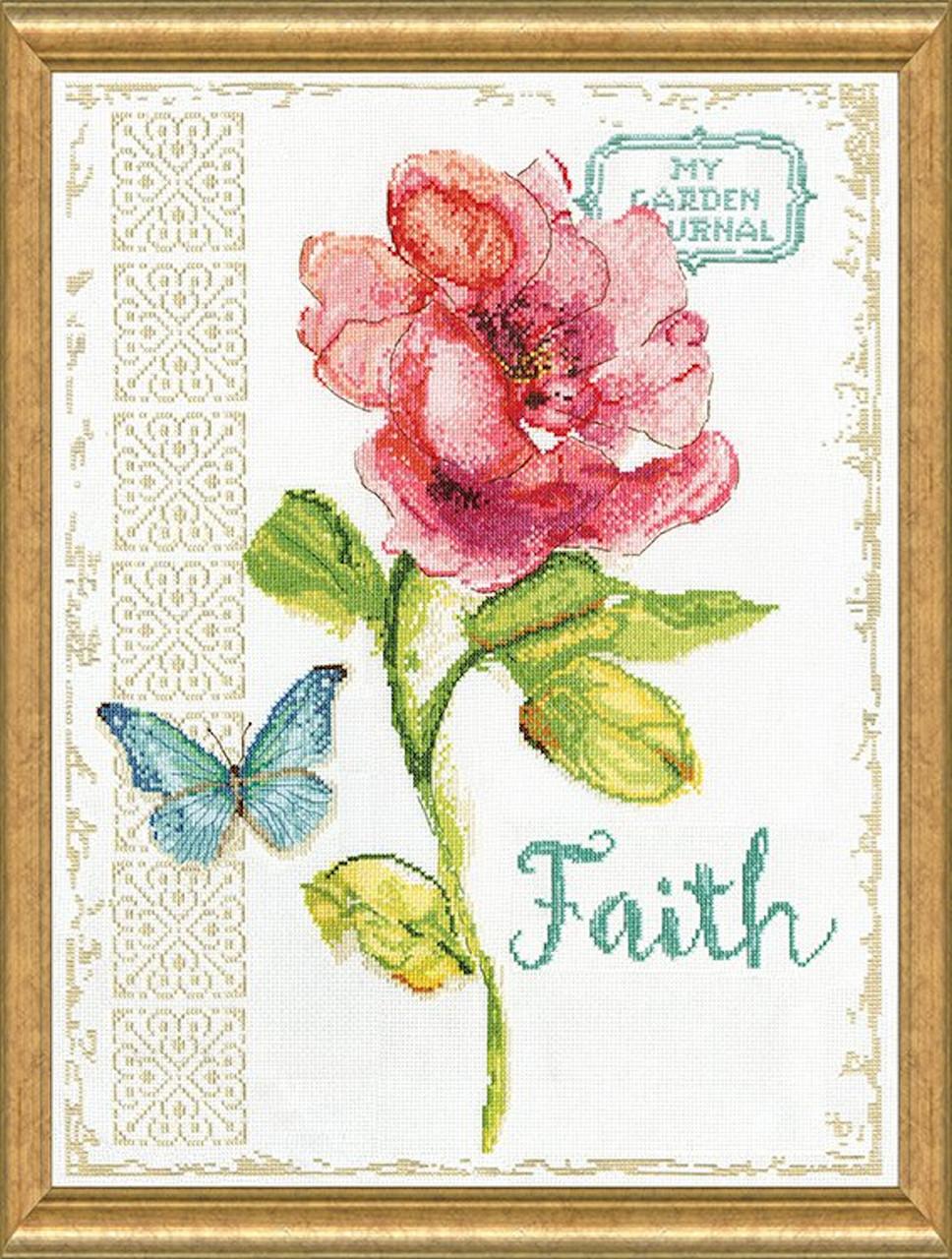 Design Works -  Faith Floral