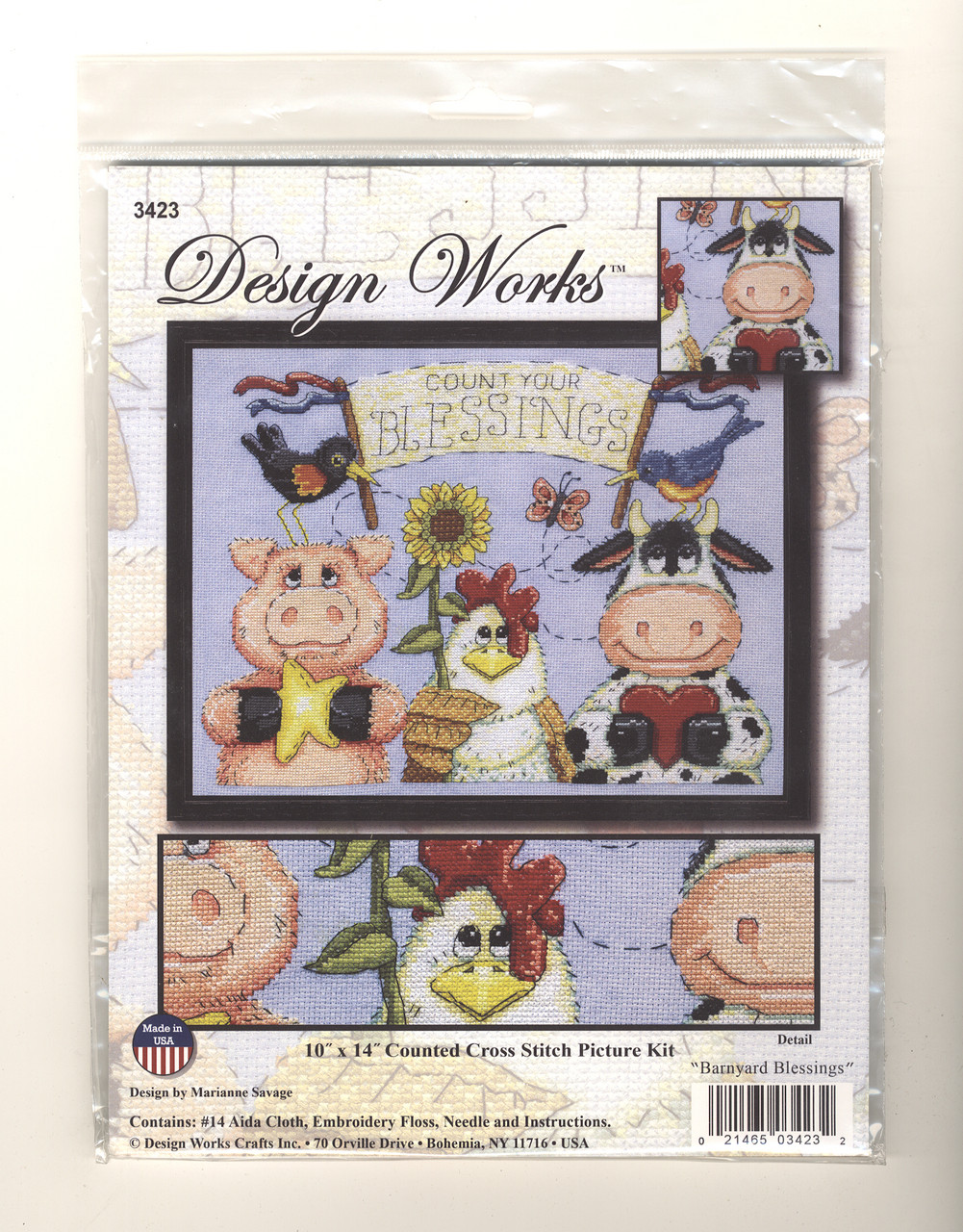 Design Works -  Barnyard Blessings