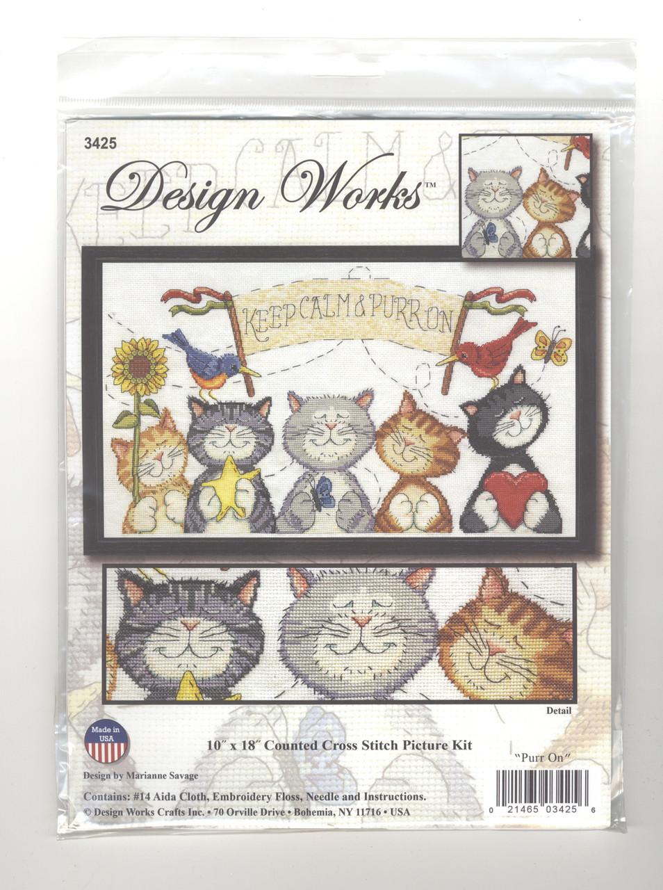 Design Works -  Purr On